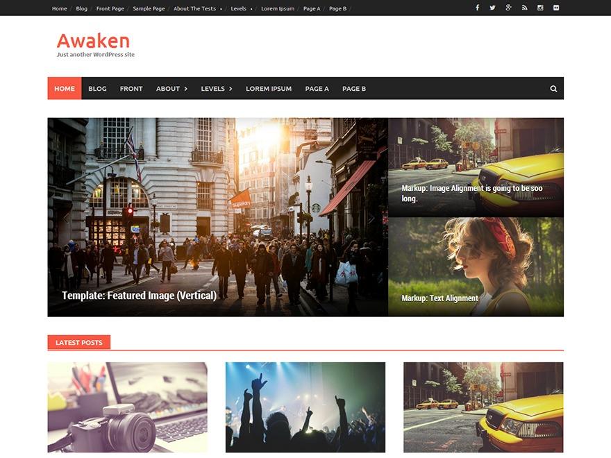 Awaken Free WordPress Themes Download
