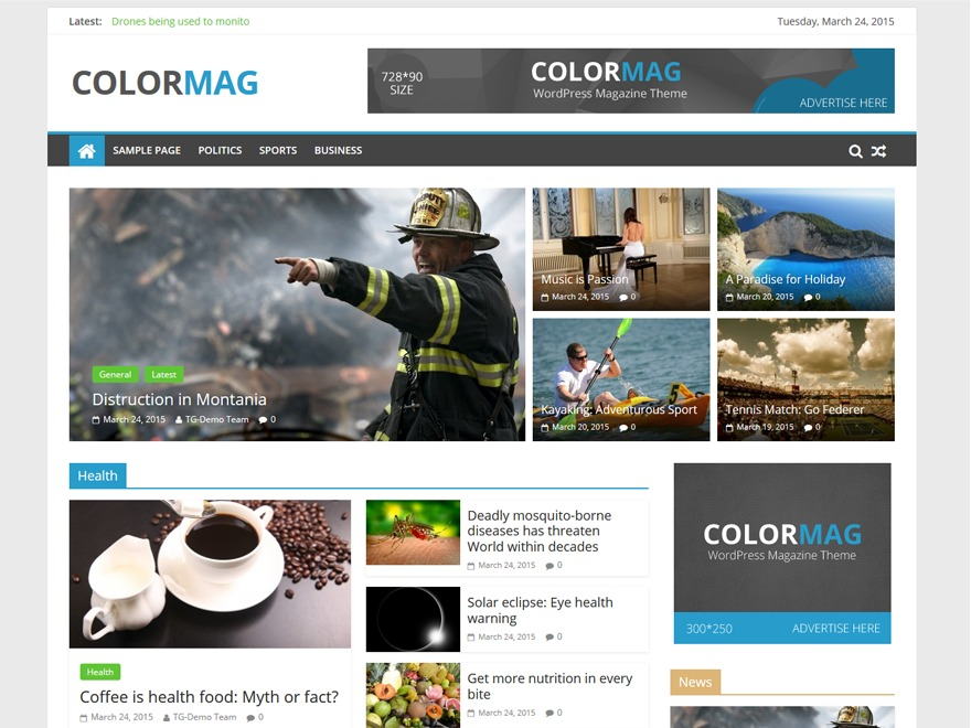 ColorMag Free WordPress Themes Download