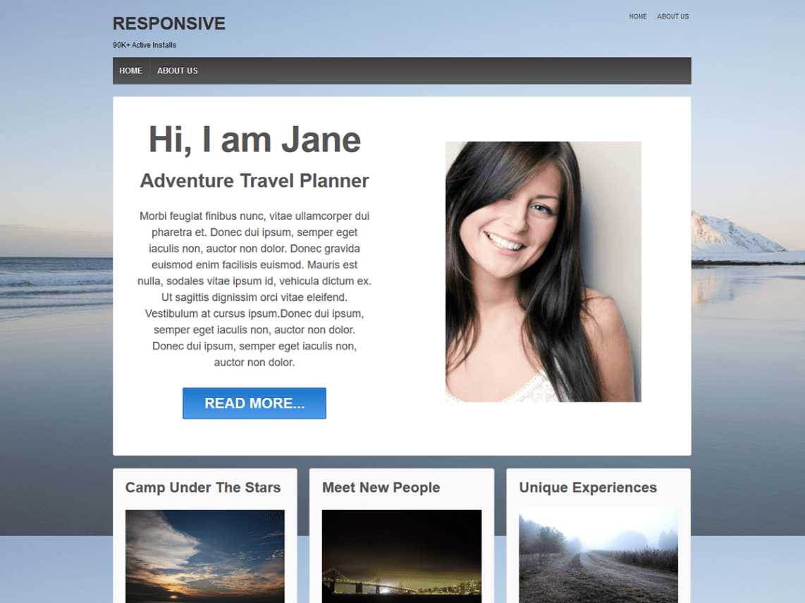 Responsive Free WordPress Themes Download