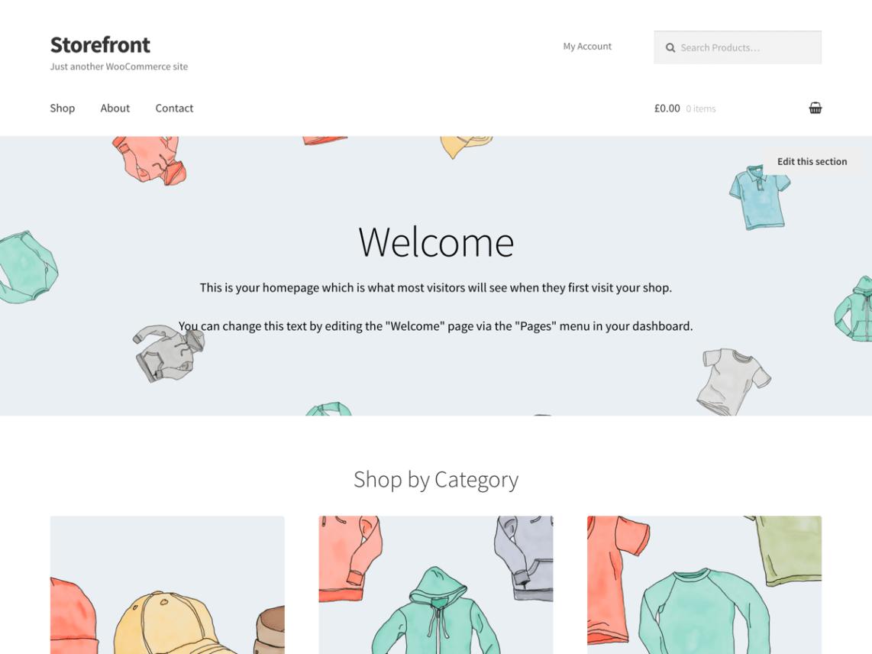 Storefront Free WordPress Themes Download