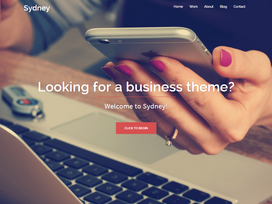 Sydney Free WordPress Themes Download