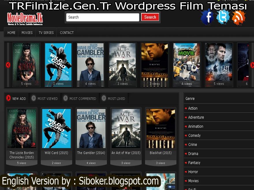 TRFilmİzle.Gen.Tr Free WordPress Themes Download