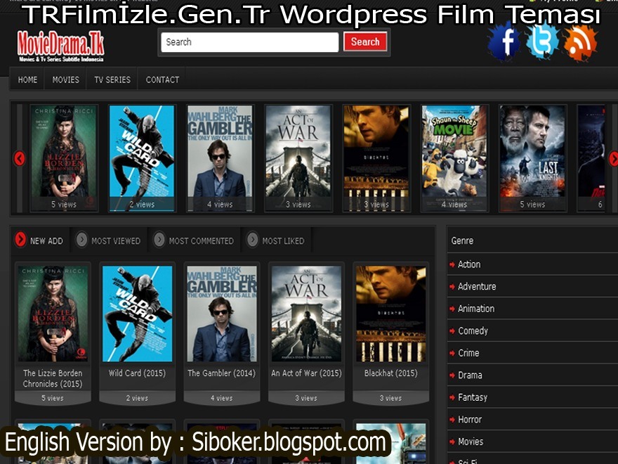 TRFilmİzle.Gen.Tr Free WordPress Themes